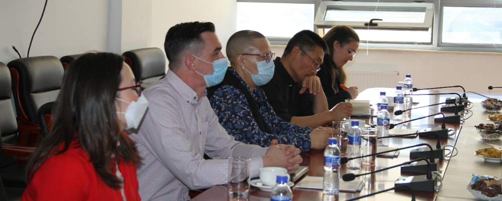Representatives of Oyu Tolgoi LLC visited at GMIT Campus