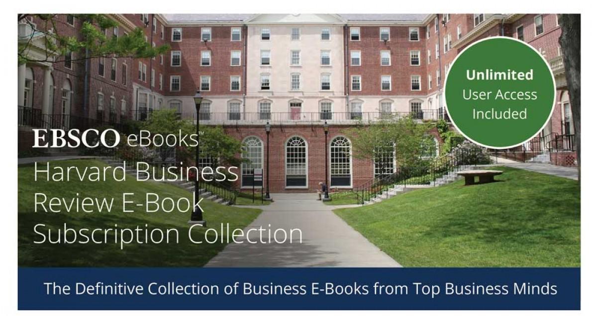 EBSCO болон Харвардын бизнесийн цахим номын сангаар үнэ төлбөргүй үйлчлүүлэх боломж